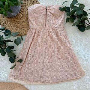 Dresses & Skirts - * Lace pink dress *